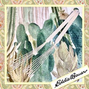 Vintage Eddie Bauer Macramé Belt Off-White Cream